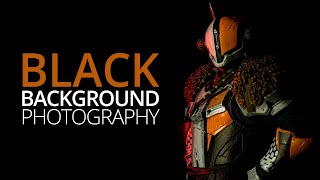 How to shoot black backgrounds without a backdrop   Macro & Product Photography Tutorial