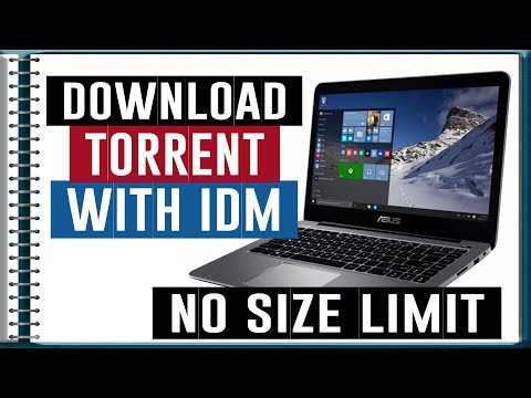 How To Download Torrent file With IDM    Without Any Size Limit    Upto 7 GB Free 100%   Guru
