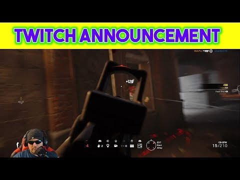 Twitch Announcement MR_MAD Stay with me