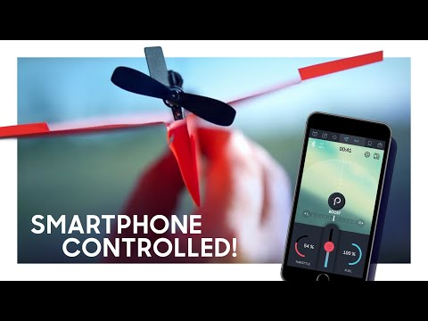 Thumbnail: PowerUp 3.0 Smartphone Controlled Paper Airplane Kickstarter