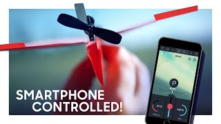 POWERUP 3.0 Smartphone Controlled Paper Airplane Kickstarter