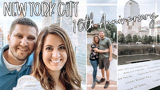 NEW YORK CITY VLOG :: 10 YEAR ANNIVERSARY IN NYC | This Crazy Life Vlog