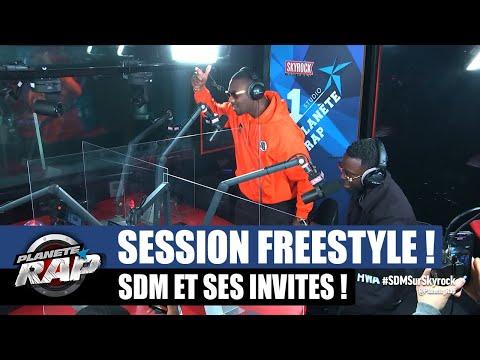 Youtube: SDM – Session freestyle avec Bramsito, Laskiiz, Ceesco, The Next, Magic, Lybro & Kaniki #PlanèteRap
