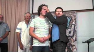 Painful abscess disappears from tailbone - John Mellor Australian Evangelist