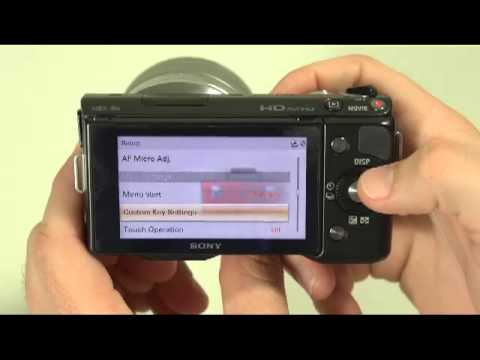 How To Set the Time and Date to your Sony NEX Camera