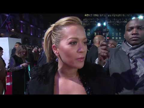 Fifty Shades Darker UK Premiere Interview - Rita Ora
