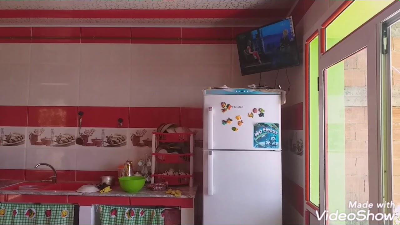 اجمل مطبخ سيراميك مطبخ حديث موديلات جميلة فايونس في الجزائر Youtube