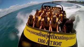 Paradise Jet Boating, Gold Coast, Australia.