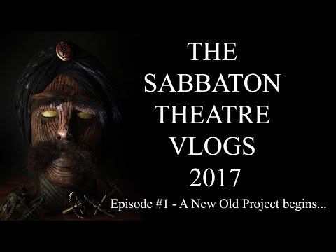 The Michael Sabbaton 'TURK' Theatre VLOGS 2017 #1