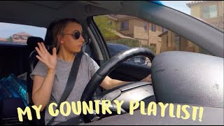 DRIVE WITH ME + country playlist 2018!