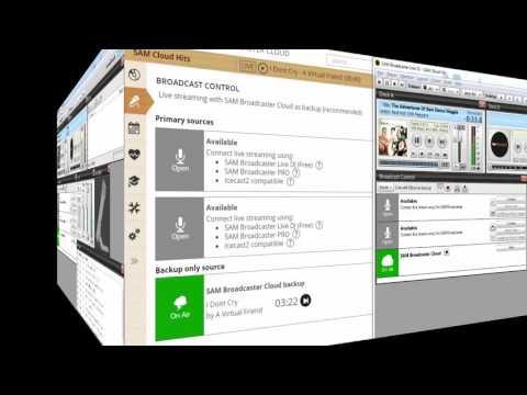SAM Broadcaster Cloud: Live Broadcasting Overview