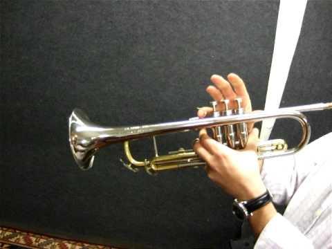 Conn Connstellation long cornett demo - YouTube