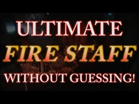 *NEW* Craft Ultimate FIRE Staff WITHOUT GUESSING! Full In-Depth Guide! (Origins Zombies)