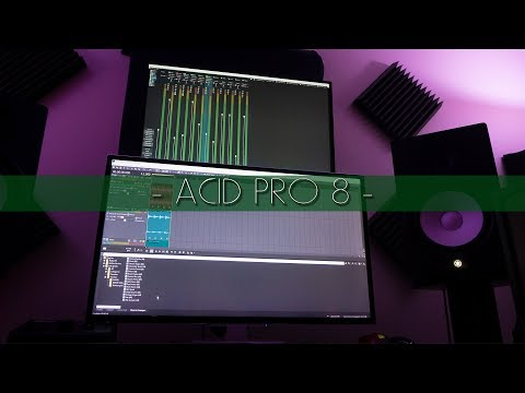 OMG! ACID Pro 8! MAKING A BEAT!