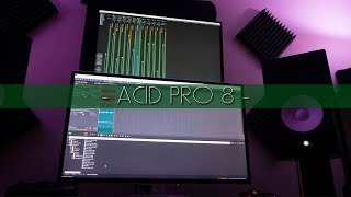 Обложка OMG ACID Pro 8 MAKING A BEAT