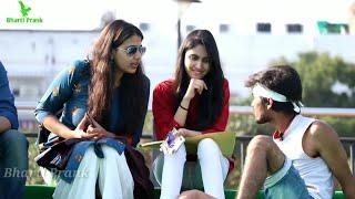 Staring Prank Part #2 On Cute Girls (Gone Wrong) ||Pranks In India||Ashish Giri,Raju Bharti
