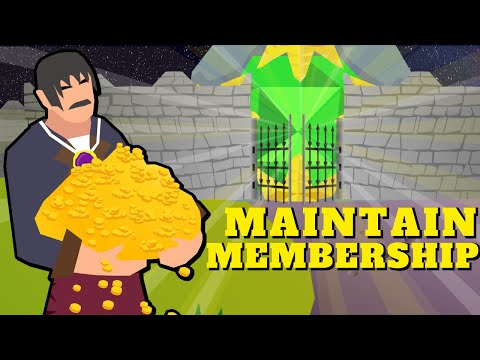 Maintain Your Membership Without Paying $11 a Month - P2P Money Making | Old School RuneScape