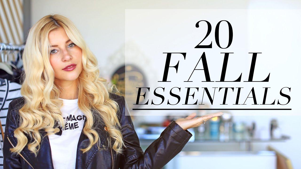 The 20 Fall Wardrobe Essentials