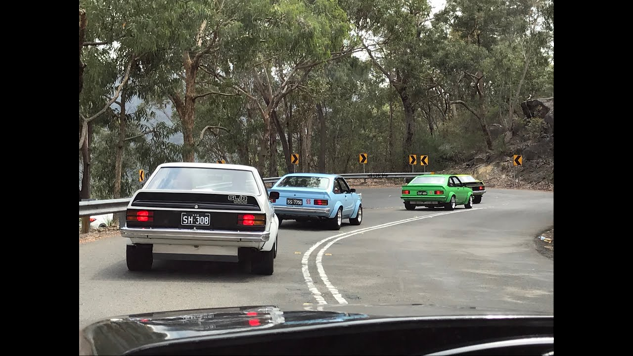 NSW Torana Club run via Galston Gorge