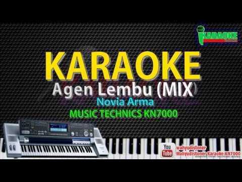 karaoke Agen Lembu Mix Original - Novia Arma [Official Music KN7000] HD Quality Tanpa Vocal