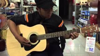 test m thanh giai điệu guitar acoustic yamaha f310