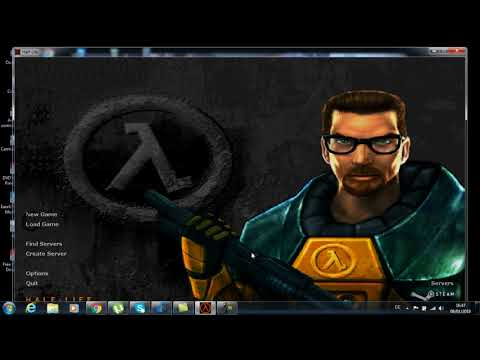 how to add bot and play half life  with computer without internet