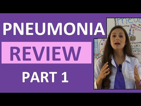Pneumonia Symptoms, Pathophysiology, Nursing | Respiratory Disorders NCLEX Lecture Part 1