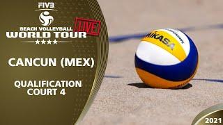 Download LIVE 🔴  Women's & Men's Quali - Court 1   4* Cancun 2021 #1
