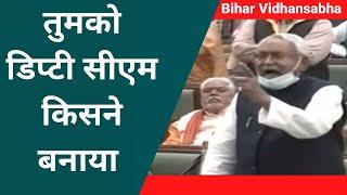 Bihar Vidhansabha: Tejashwi Yadav पर भड़के Nitish Kumar