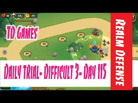 Realm Defense- Daily Trial- Difficult 3- Day 115