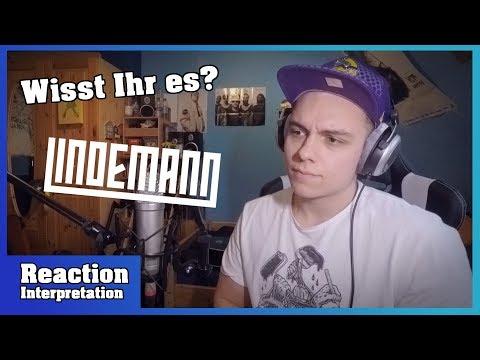 Download ERNSTES Thema! | LINDEMANN - Ich Weiß Es Nicht | Reaction & Interpretation Mp4 baru