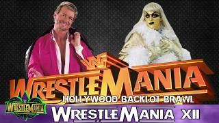 WrestleMania Moments in a Minute - WrestleMania XII - Piper vs Goldust - The HollyWood Backlot Brawl
