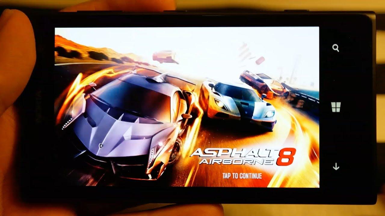 Asphalt 8 gameplay on lumia 1020 gaming performance demo in full hd 1080p youtube - Asphalt 8 hd images ...