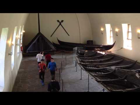 The Viking Ship Museum in Oslo, Norway.