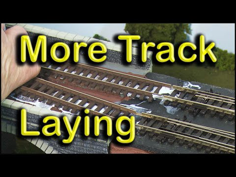 More Track Laying at Chadwick Model Railway | 82.