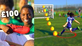 I Bought Kids £100 Football Boots Every Time They Hit The Crossbar