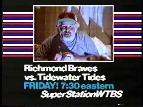 Richmond Braves 1981 WTBS Promo
