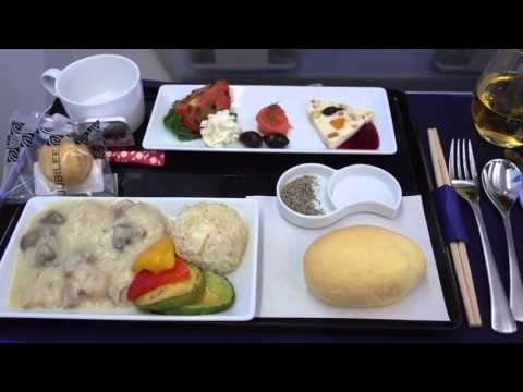 ANA 787 Business Class Seoul Gimpo to Haneda 東京ビジネスクラスへソウル