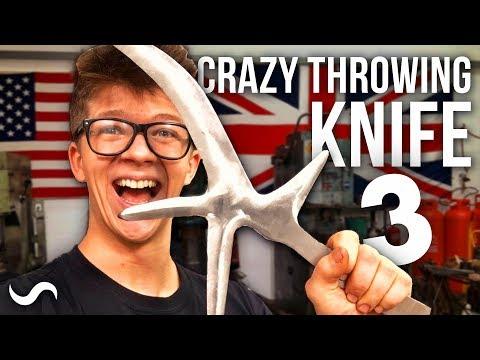 MAKING A HUNGA MUNGA: African Throwing Knife! Part 3
