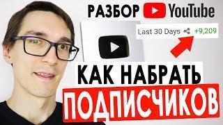 Как набрать 1000 подписчиков на YouTube | Советы, как набрать подписчиков. Оценка каналов