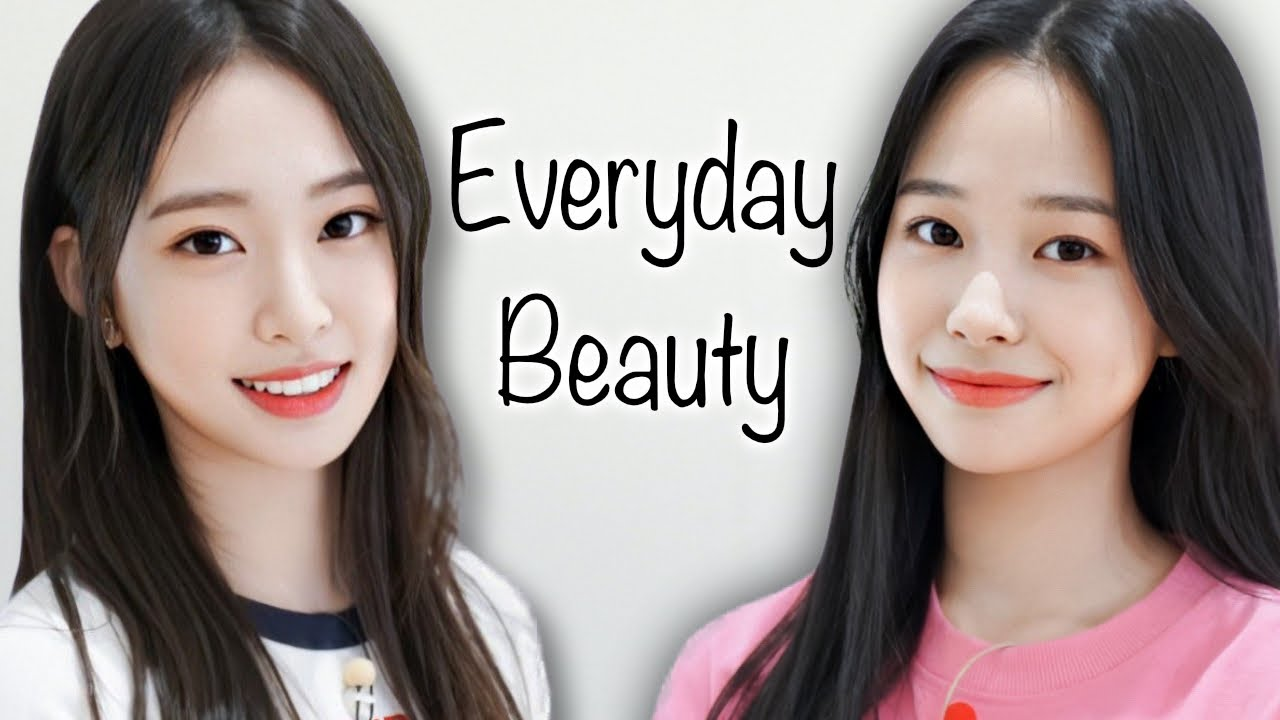 WEEEKLY vs Korean Beauty Standards (Everyday Beauty)