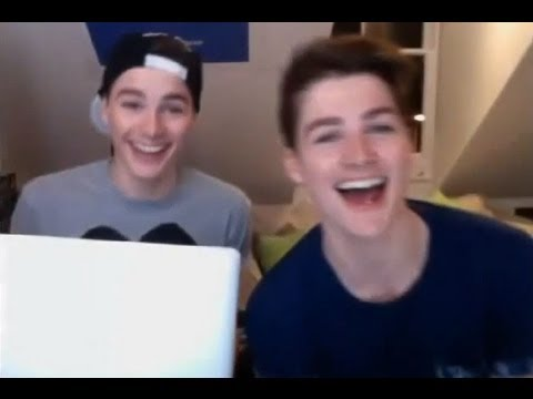 Jack and Finn Harries' YouNow 14/04/13