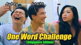1-Wort Challenge mit Audrey & Norbin (in Singapur lol)