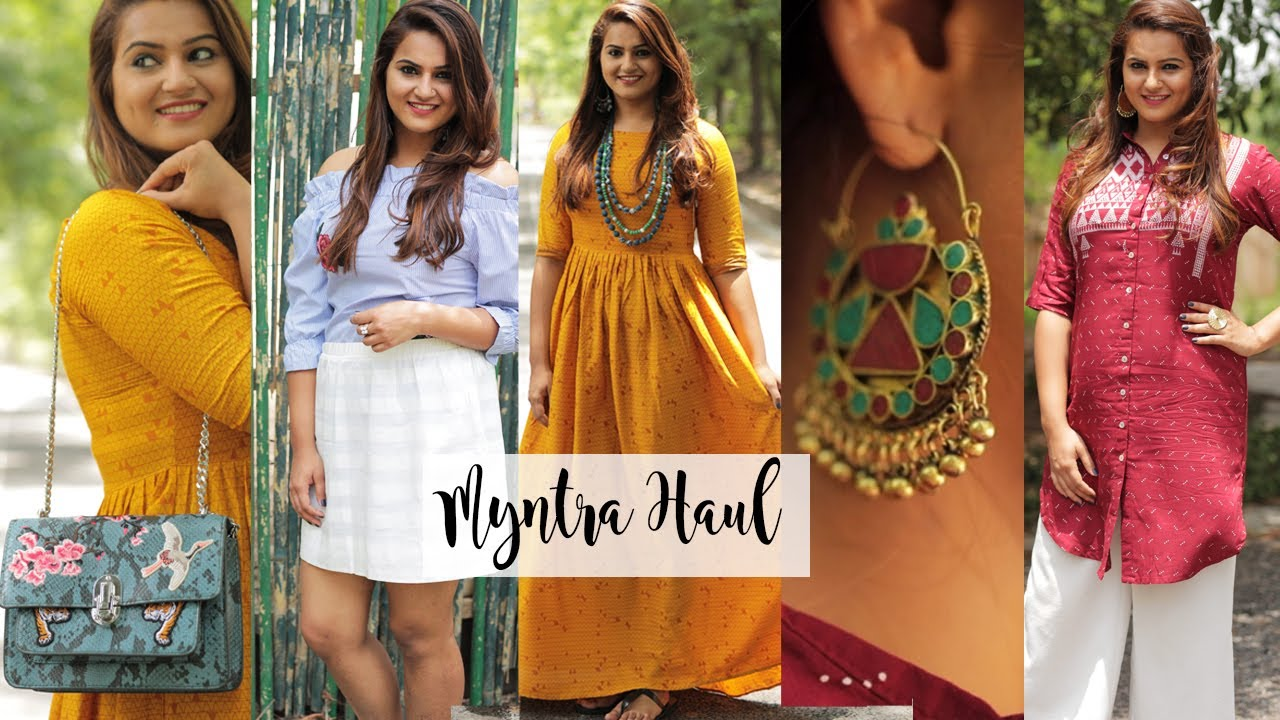 My Myntra Fashion Haul Fashion Blogger Look Book Guiltybytes Youtube