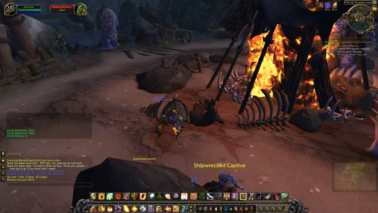 Legion Quest 41 A Favor For Mr Shackle Wow Human Paladin
