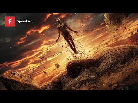 Jupiter Rising - Adobe Photoshop CC Manipulation - By Flew