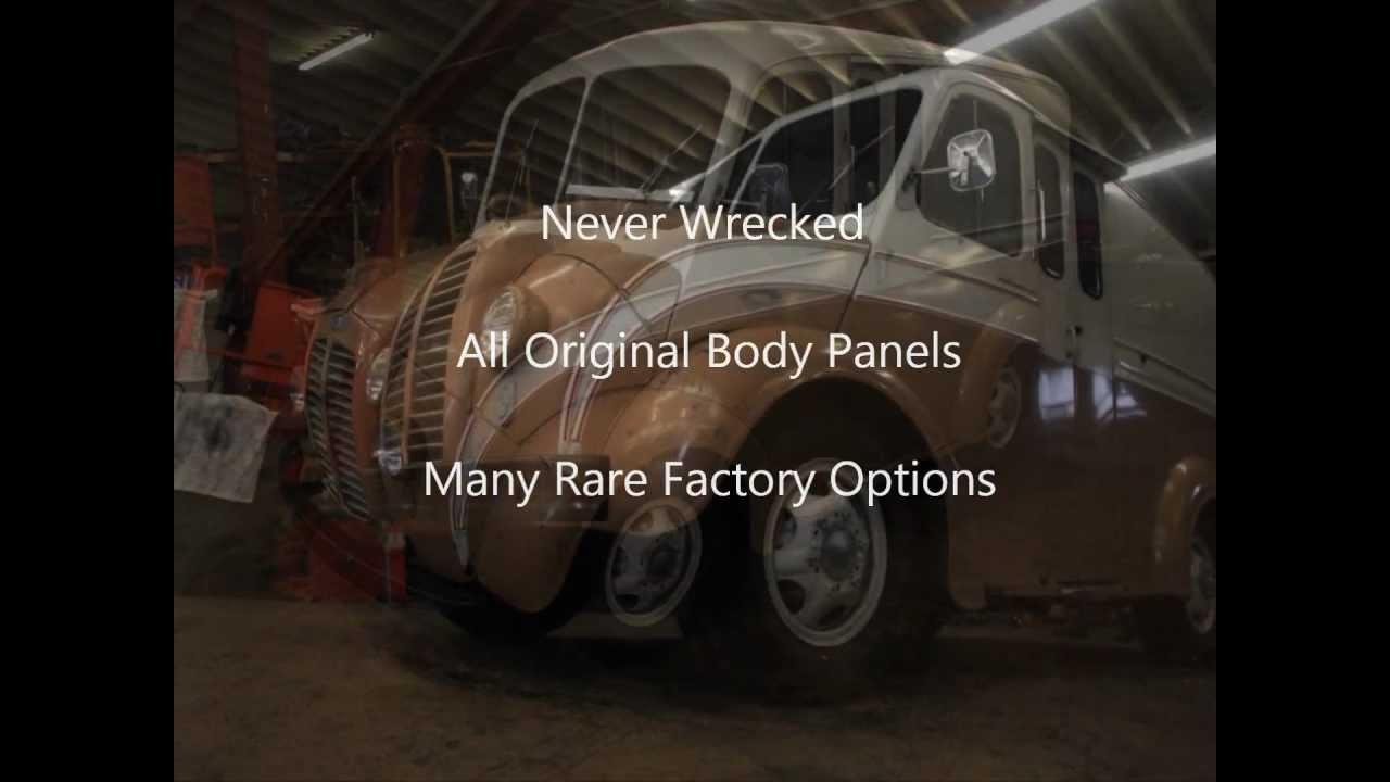 Divco Milk Truck Model 12 For Sale 1955 (SOLD) - YouTube