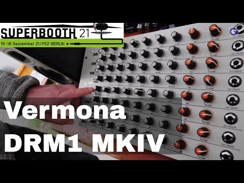 SUPERBOOTH 2021 - Vermona - DRM1 MKIV