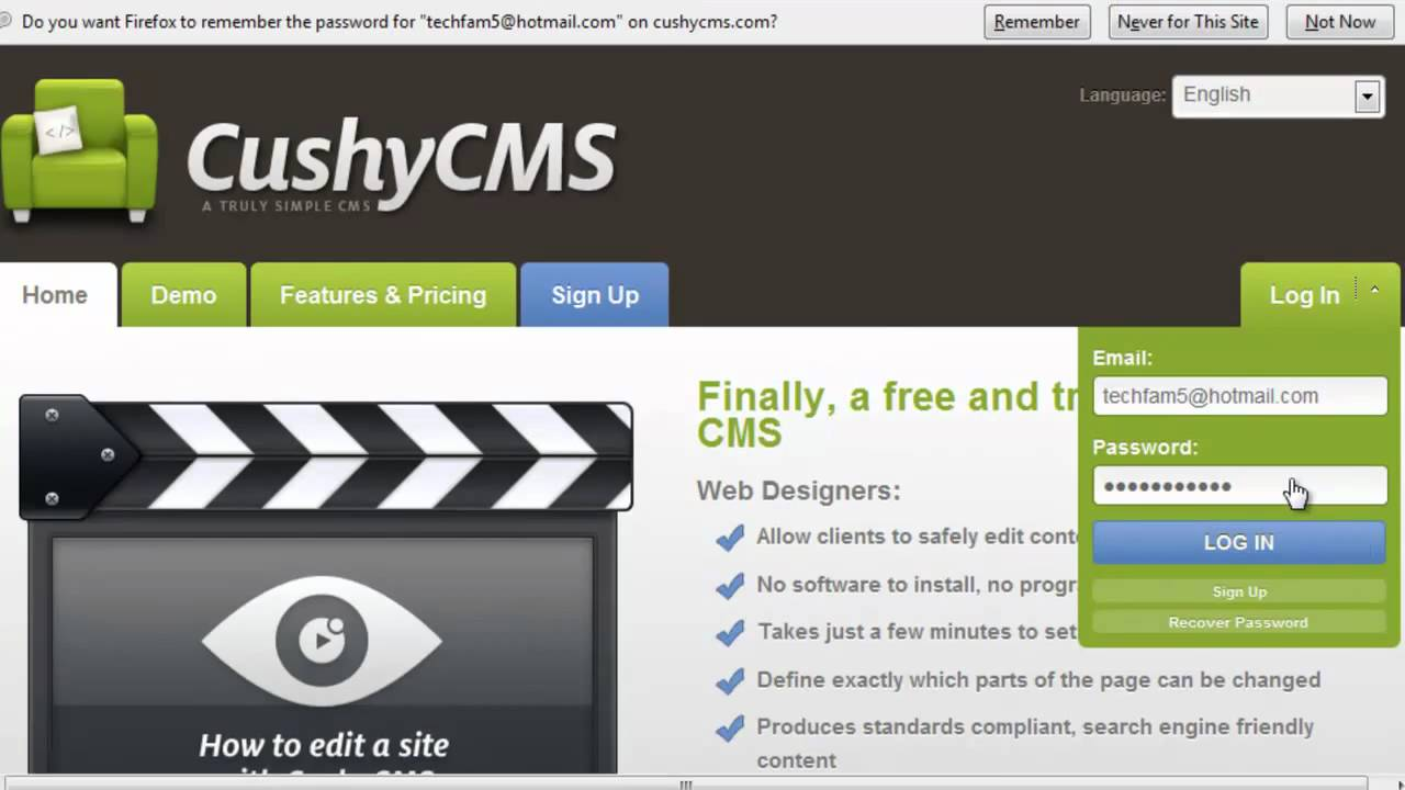 How to add a CMS to a HTML website by Factrocks