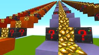 Minecraft 1v1v1 ELECTRONIC LUCKY BLOCK STAIRCASE RACE! (Minecraft Mods)